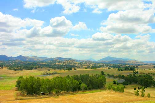 Sierra foothills of Central California